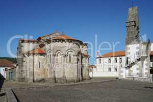 Romanische Kirche von Sao Pedro de Rates, Portugal, Europe