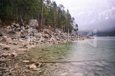 The Lake Eibsee
