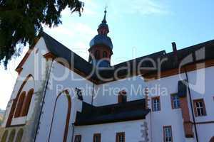 Kirche von Kloster Eberbach im Rheingau