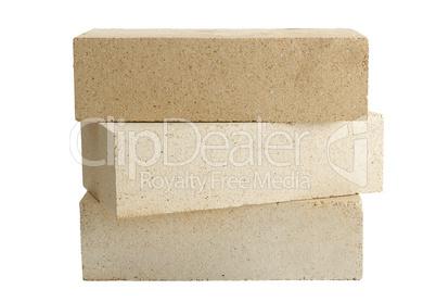 Figure of three bricks