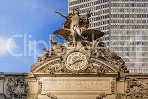 Grand Central Terminal external clock