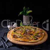 fresh and tasty Peperoni Pizza