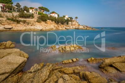 Nice detail from Costa Brava ( Catalonia) coastal in Spain