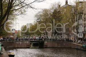 Im Zentrum von Amsterdam