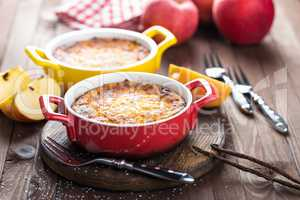 Cottage cheese casserole, sweet breakfast