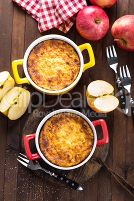 Cottage cheese casserole, sweet breakfast