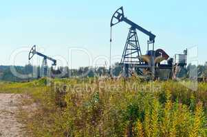 oil production, oil wells, oil processing