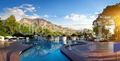 Swimming pool Turkey