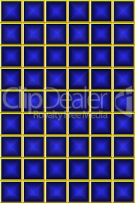 Blue square backgroud