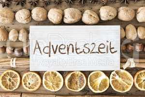Christmas Food Flat Lay, Adventszeit Means Advent Season