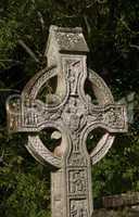 Celtic cross in North-Ireland