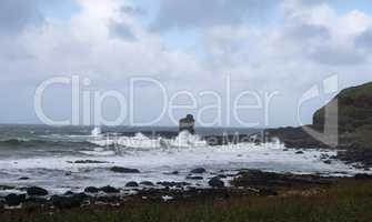 North Coast of Ireland at the Great Causeway