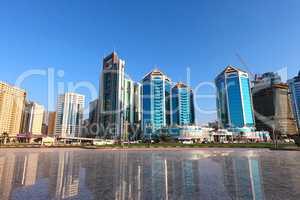 Hochhäuser in Sharjah