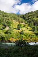 Gehöft Galdane, Sogne og Fjordane, Norwegen