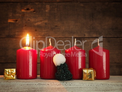 First Advent, Christmas or Advent background