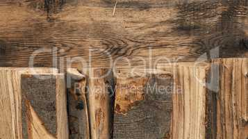 Fire wood background