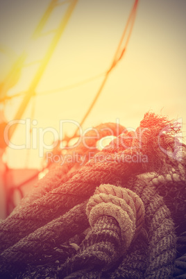 Rope details.