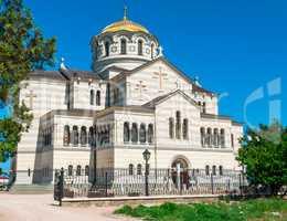 building Vladimir Cathedral Chersonese Tavricheskiy