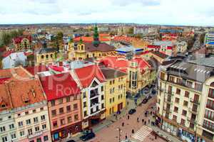 Ivano-Frankivsk from a bird's eye view