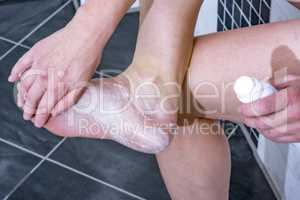 Chiropody for a woman 50+