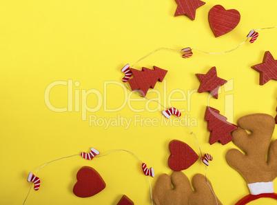 carnival headdress moose and festive decor