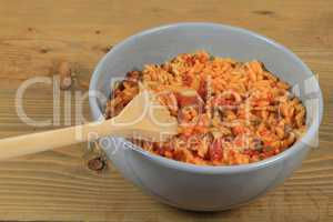 Mexican style cooked rice