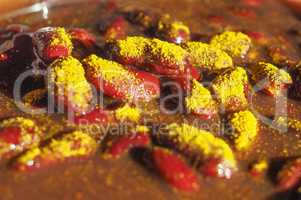 kidney beans curry legumes vegetables food