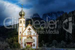 Church of St. Giovanni in Ranui, South Tyrol