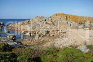 Küstenlandschaft von Galicien, Spanien