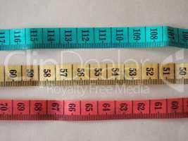 tailor meter ruler