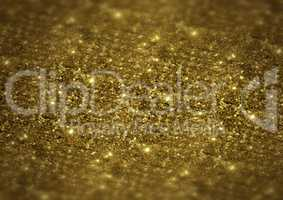 Sparkle bright glittering golden abstract background