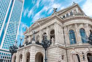 The Alte Oper Frankfurt am Main city opera house