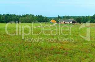 rural landscape, countryside, rural home