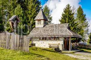 Chapel on the way to Astjoch