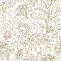 Floral seamless pattern. Flourish oriental ethnic background.
