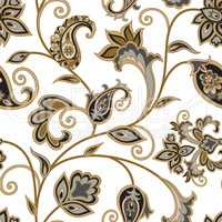 Floral pattern. Flourish oriental ethnic background. Arabic orn