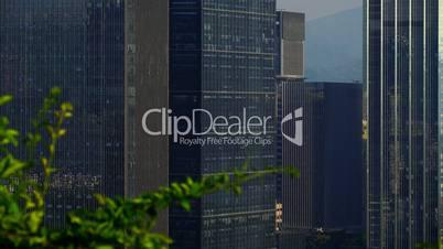 China - Shenzhen - huge skyscraper