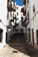 Street of Peñiscola.