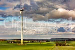 Wind turbine for power generation
