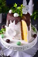 cooked easter cake
