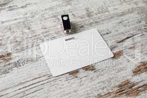 Blank id card