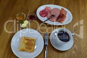 continental breakfast - Frühstück