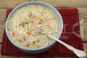 Slow cooked cream soup
