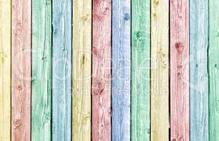 Pastel painted old weathered wood planks