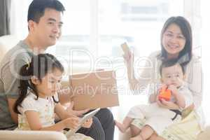 Asian family online purchase