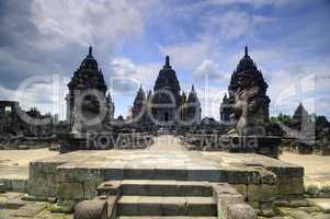 Hindu temple at Prambanan