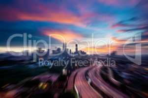Zoom Kuala Lumpur city