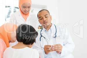 Children having fever