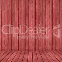 Wood texture background. red wood wall and floor