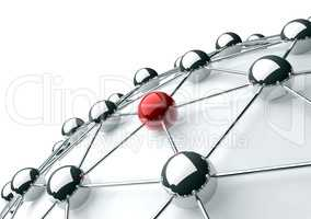networking and internet concept